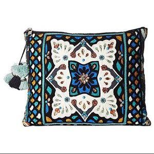 Gorgeous Embroidered & Embellished Handbag, NWT